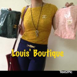 Ảnh số 39: áo ren Chanel - Giá: 120.000