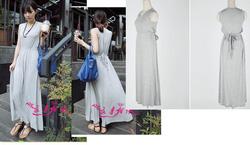 Ảnh số 83: váy maxi cotton - Giá: 350.000