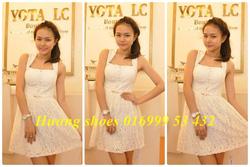 ?nh s? 3: váy ren trắng - Giá: 380.000