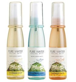 Ảnh số 90: Xịt khoáng Pure water facial mist - The face shop - Giá: 155.000