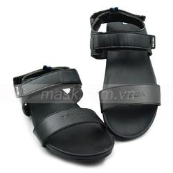 Ảnh số 17: Sandals Prada da đen quai dán - Giá: 400.000
