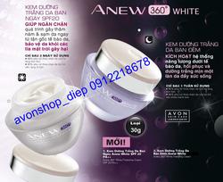 Ảnh số 73: Kem dưỡng trắng da ban ngày/ban đêm Anew 360° White 30g - Giá: 279.000