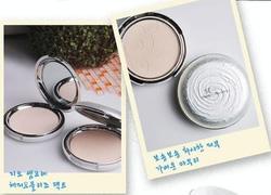 ?nh s? 37: PHẤN PHỦ DẠNG NÉN GEO NGỌC TRAI SEMPRE HAPPY & PLEASE PACT (HÀNG CHÍNH HÃNG KOREA) - Giá: 220.000