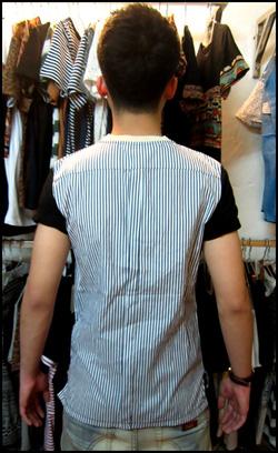 Ảnh số 31: Áo thun lưng giả sơ mi - Giá: 160.000