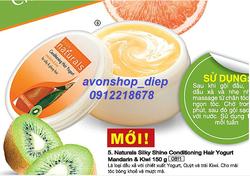 Ảnh số 84: Dầu xả với chiết xuất yogurt, Quýt và trái Kiwi - Giá: 50.000