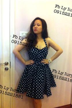 Ảnh số 20: váy chấm bi cúp ngực Hàn quốc - Giá: 800.000