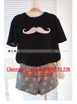 ?nh s? 79: Áo phông râu, có đủ màu - Giá: 110.000