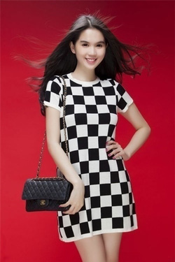 ?nh s? 43: Váy caro Ngọc Trinh - Giá: 220.000