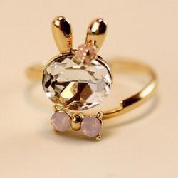 Ảnh số 4: Nhẫn Thỏ Ngọc - Giá: 30.000