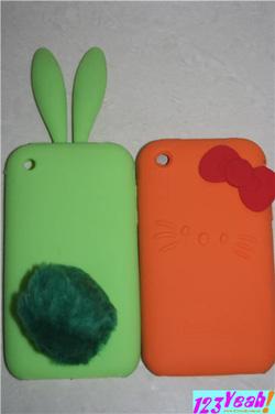 Ảnh số 13: Ốp lưng tai thỏ, kitty IPhone 3G.3GS OV21 - Giá: 90.000
