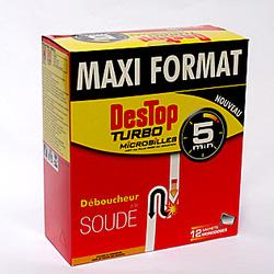 Ảnh số 68: Gói bột thông bồn cầu Maxi Format của Pháp 12goi/hộp: - Giá: 160.000