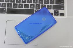 ?nh s? 15: - Ốp Lưng Nokia LUMIA 520 Silicon S-LINE - Giá: 70.000
