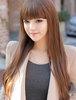 ?nh s? 39: Korea - tóc thẳng mái bằng Tóc có da đầu chịu nhiệt - Giá: 700.000