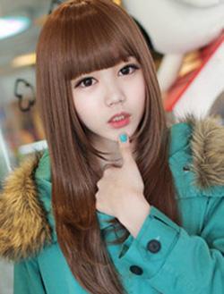 ?nh s? 46: Korea - tóc thẳng mái bằng Tóc có da đầu chịu nhiệt (đã bán) - Giá: 700.000
