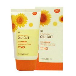 Ảnh số 40: Kem chống nắng Oil Cut Sun Cream The Face Shop 2013 - Giá: 280.000
