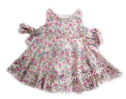 Ảnh số 17: Đầm kate mềm Sweet Heart Rose XUẤT, 5>7tuổi, trộn màu 6cái - Giá: 1.000
