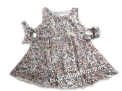 Ảnh số 21: Đầm kate mềm Sweet Heart Rose XUẤT, 5>7tuổi, trộn màu 6cái - Giá: 1.000