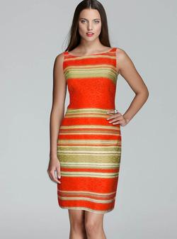 Ảnh số 30: Đầm Kaki sọc ngang - Giá: 297.500