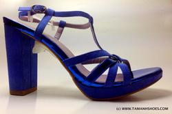 Ảnh số 25: Sandal cao gót Việt Nam xuất khẩu hiệu Leveline X43 size39 form 38 đi vừa - Giá: 560.000
