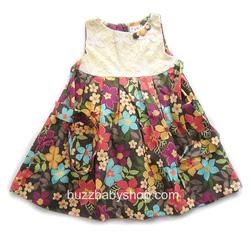 Ảnh số 42: Đầm kate mềm phối ren Gala, size 2>4>6>8>10 tuổi - Giá: 1.000