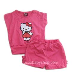?nh s? 11: Bộ thun Hello kitty, size 1>8 tuổi - Giá: 1.000