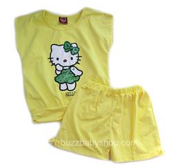 ?nh s? 14: Bộ thun Hello kitty, size 1>8 tuổi - Giá: 1.000