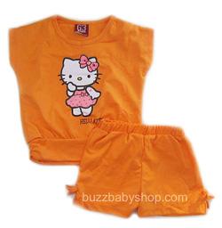 ?nh s? 15: Bộ thun Hello kitty, size 1>8 tuổi - Giá: 1.000