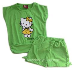 ?nh s? 16: Bộ thun Hello kitty, size 1>8 tuổi - Giá: 2.000