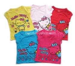 ?nh s? 82: Áo thun hello kitty,size 2>8 tuổi, vàng,hồng,đỏ,xanh,sen - Giá: 2.000