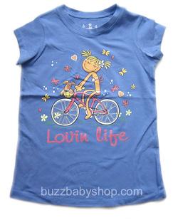 ?nh s? 99: Áo thun size đại cô bé đi xe đạp, 8>16 tuổi - Giá: 2.000