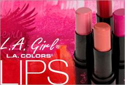 Ảnh số 61: L.A Girl Creme Lipstick - Giá: 90.000