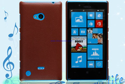 ?nh s? 32: - Ốp Lưng NOKIA Lumia 720 DOLIDA Nhựa Giả Da - Giá: 100.000