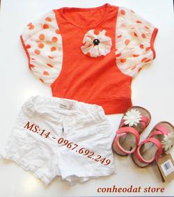 Ảnh số 15: Set áo quần bé gái 2 - 3 tuổi - Giá: 220.000