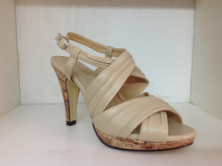 Ảnh số 2: Sandal cao gót Việt Nam CafèNoir X59 màu nude đủ size 35 đến 38 - Giá: 224.000