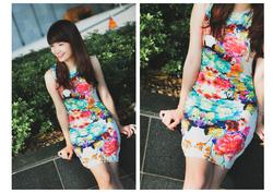 Ảnh số 3: Váy hoa HM - Giá: 250.000