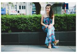 Ảnh số 5: Váy maxi xanh ngọc - Giá: 350.000