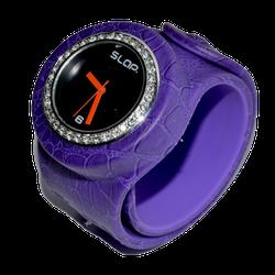 Ảnh số 38: Slap Watch Purple Croc - Giá: 660.000