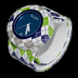Ảnh số 49: Slap Watch Argyle Green/Blue - 660.000 VNĐ - Giá: 660.000