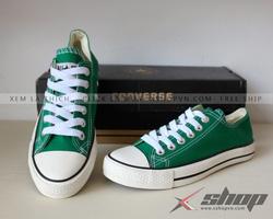Ảnh số 91: Giày Converse CLassic xanh lá - Giá: 199.000