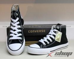 Ảnh số 70: Giày Converse classic cao cổ đen - Giá: 220.000