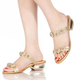 Ảnh số 13: Crystal Sandal B705 - Giá: 1.200.000