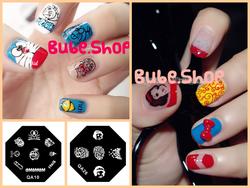 Ảnh số 28: Stamping nail art bube shop - Giá: 20.000
