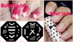 Ảnh số 29: Stamping nail art bube shop - Giá: 20.000