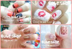 Ảnh số 23: Stamping nail art bube shop - Giá: 20.000