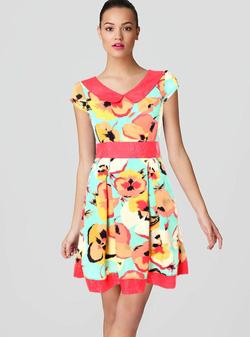 Ảnh số 45: Đầm hoa lụa mềm - Giá: 340.000