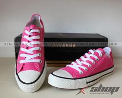 Ảnh số 80: Giày Converse Classic Hồng thấp cổ - Giá: 199.000