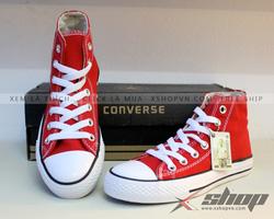 Ảnh số 67: Giày Converse classic cao cổ đỏ - Giá: 220.000