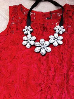 Ảnh số 50: váy ren - Giá: 460.000