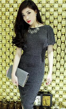 Ảnh số 95: váy kim tuyến , rất sành điệu - Giá: 500.000