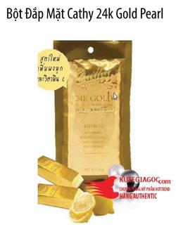 Ảnh số 17: Bột Đắp Mặt Cathy 24k Gold Pearl Powder Mask - Giá: 55.000